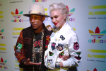 Pharrell with Gwen Stefani