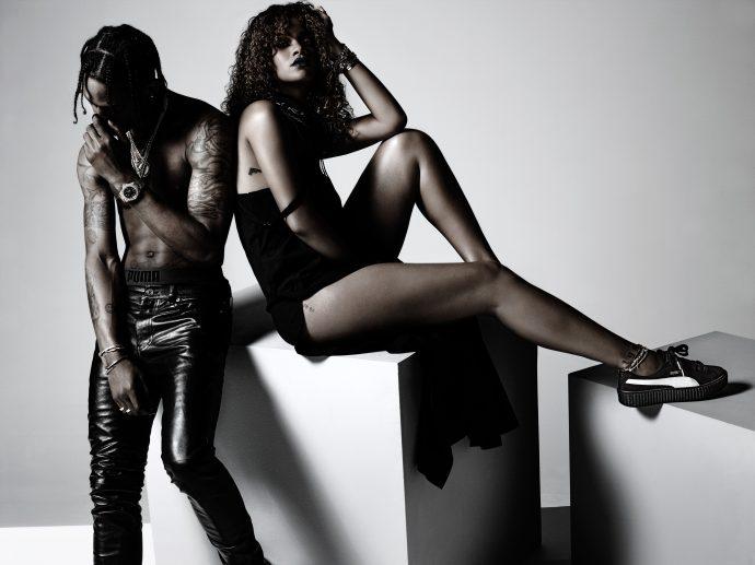 首款蕾哈娜設計鞋履   PUMA Creeper 全球限量發售