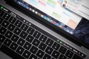 拭目以待!即將發表的 Apple MacBook Pro 幾乎確定要有「觸控功能鍵」了!
