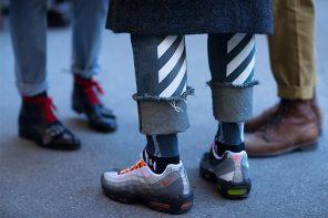 街拍重頭戲,2017 秋冬米蘭時裝週「球鞋」街拍一覽!