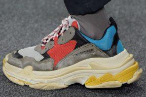 下一雙街頭寵兒?!Balenciaga 2017 最新「球鞋」引起強烈關注!