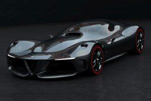 科技化還是未來化?Alfa Romeo 發布全新概念頂級超跑