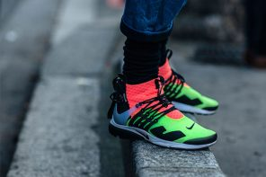 最好看「球鞋」街拍來了,巴黎時裝周帥鞋集錦!