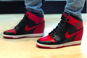 球鞋界的第一夫人上腳從未曝光過的 Air Jordan 球鞋!