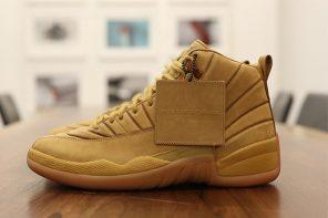 重磅聯名登場,預覽 PSNY x Air Jordan 12 聯名鞋款「Wheat」!