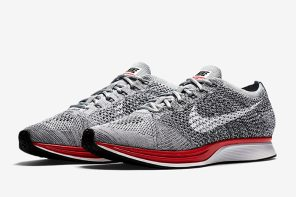 惹眼紅底即將開售,Nike Flyknit Racer「No Parking」新色登場!