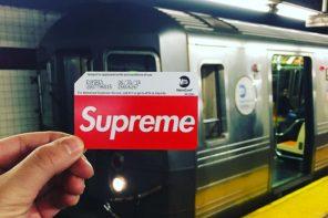 紐約地鐵站宣布開賣 Supreme MetroCard,現場暴動到需要請警察來!