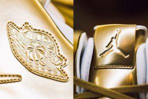 黃金喬丹有沒有看過,這雙 Air Jordan 31 絕對能閃瞎你的眼!
