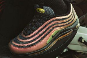 Nike Air Max 97 這次聯手英國知名饒舌歌手 Skepta 發行新款新顏色!
