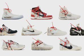 "Virgil Abloh x Nike ""The Ten"" 即將發行前,先來了解這 10 雙鞋屌在哪!"