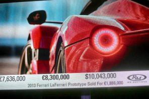 破紀錄!法拉利慈善拍賣活動最高價車款竟來到「3」億台幣….