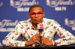 專題 / 其實「西河」根本不是 NBA 的時尚偶像,大前輩:「他只是穿得不一樣罷了!」