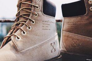 在和 Nike 世紀聯名後,Off-Whiite 主理人這次找上 Timberland 拿黃靴開刀!?