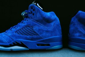 準備再次排隊!Air Jordan 5「Blue Suede」月底上架確定!