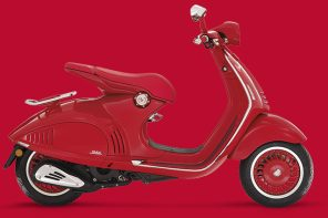 RED紅色公益限量版 《(Vespa 946)RED》臺灣市場正式交車