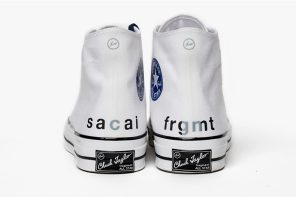 Fragment X Sacai 開始販售!極上聯乘光看屁股就快受不了!