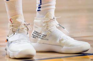 """勇士隊 Green 開幕戰居然穿上 Virgil Abloh x Nike """"The Ten"""" 系列中的這雙鞋?!"""