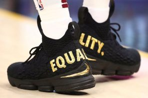 """開幕戰新鞋直擊!詹皇這雙 Lebron 15 """"Equality"""" 其實別有用心?"""