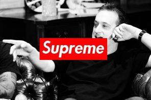 紀念傳奇!Supreme 為甫過世的球鞋評論家打造「專屬 Box Logo」Tee!