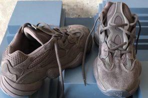 """肯爺最新 YEEZY 鞋款 """"DESERT RAT 500"""" 近照終於曝光!"""