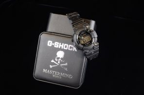 夜光骷髏頭!mastermind WORLD x G-SHOCK 聯名單品即將販售!