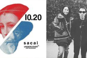 UNDERCOVER x sacai 南青山限定發佈現場,他們攜手走了一場十四年前的秀