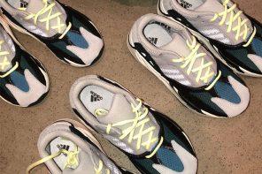 小小孩穿爸爸鞋的概念!YEEZY Wave Runner 700 童鞋版本曝光!