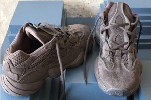 全新 YEEZY 跑鞋清晰細節曝光!名為…「沙漠老鼠五百」?