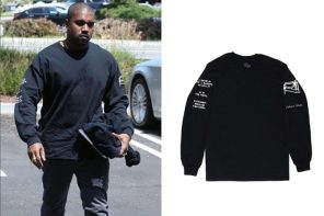 肯爺穿上這款單價 $750 新台幣的不知名品牌衛衣後,該品牌所有產品瞬間完售!