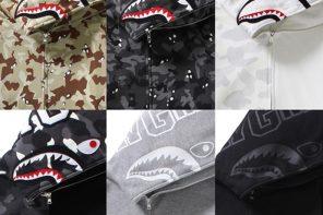 BAPE 鯊魚外套即將重出江湖!六色齊發你看準哪一款!?