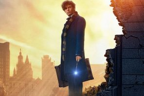 《怪獸與他們的產地》續集首張海報釋出!年輕的鄧不利多找來英國型男裘德洛飾演!