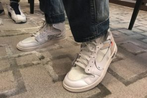 隱藏版配色!據說 OFF-WHITE x Air Jordan 1 明年會賣這雙!?