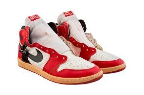 Michael Jordan 在 20 年前穿上球場的 Air Jordan 1 值多少錢?