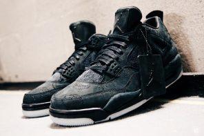 更多 KAWS x Air Jordan 4 黑魂版高清近覽!有利消息再次確定「月底發售」?!