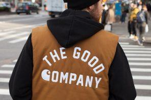 樸素時尚王者!Carhartt WIP 與這家「紐約街牌」合作推出 5 周年特別聯名!