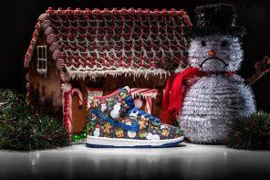 連童鞋都有!時尚名所 Concepts 攜手 Nike 推出聖誕限定超繽紛鞋款「Ugly Sweater」!