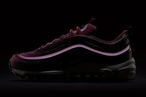 酒紅色的復古輪廓!Nike Air Max 97「Bordeaux」即將上架!