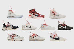 看有沒有你的尺寸啊!Off-White 台北店 Nike「The Ten」發售尺寸一覽!