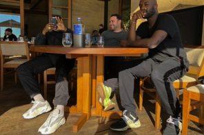 Kanye West 和 Virgil Abloh 開會竟穿了雙從未曝光的 YEEZY 700 新配色!?