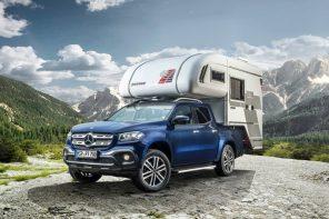 讓你走到哪睡到哪 Tischer打造《Mercedes-Benz X-Class》後掛式露營套件