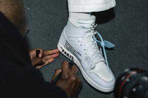 曾遭到「否認」的 OFF-WHITE x Air Jordan 1「全白」配色登陸新品發佈會!