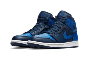 "搶先曝光!Air Jordan 1 Mid ""Royal Blue"" 性感細覽"
