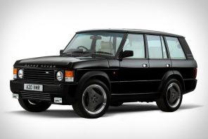 不只球鞋,連老車都可以復刻!初代《Range Rover》經典重生!