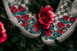 情人節就送這雙!VANS「玫瑰刺繡」上乘面料 Slip-On 販售中!