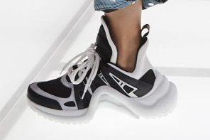 巴黎世家 Triple S 的最大敵人!Louis Vuitton 爸爸鞋 Arclight 即將發售!