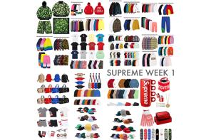 壓歲錢準備好!Supreme 開季第一週販售新品這裡一次看!