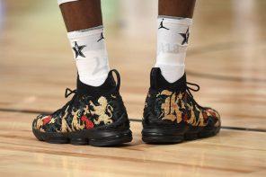 明星賽「戰靴」大點評!詹皇和暴龍一哥 Derozan 的球鞋最吸晴!