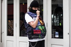 倫敦潮人親身演繹 Supreme x Undercover x Public Enemy 三方聯名穿起來長怎樣!
