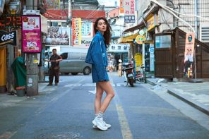 再一次戀愛!收看 Supreme 女神 Adrianne Ho 首爾街拍特輯