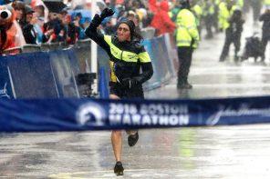 擊倒惡劣天氣!Desiree Linden 勇奪 2018 波士頓馬拉松女子組冠軍!